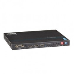 Black Box Black Box 4 X 1 PRESENTATION SWITCHER WITH HDBase-T