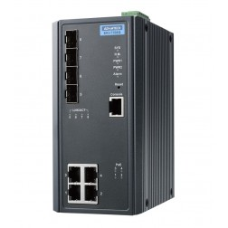 Ethernet Unmanaged Switch Advantech B+B Smartworx EKI-7708G-4FPI