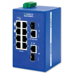 Ethernet Unmanaged Switch Advantech B+B Smartworx SEC310-2SFP-T