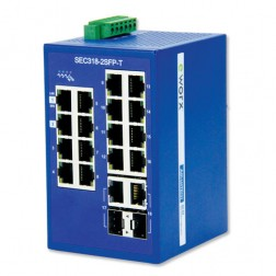 Ethernet Unmanaged Switch Advantech B+B Smartworx SEC318-2SFP-T