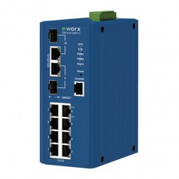 Ethernet Managed Switch Advantech B+B Smartworx SEC510-2SFP-T