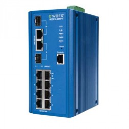 Full Gigabit Managed Ethernet Switch Advantech B+B Smartworx SEG510-2SFP-T
