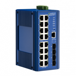 Ethernet Managed Switch Advantech B+B Smartworx SE520-4SFP-T