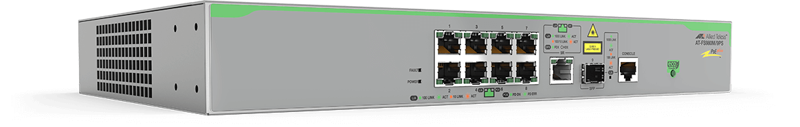 Allied Telesis Switch AT-FS980M/9PS