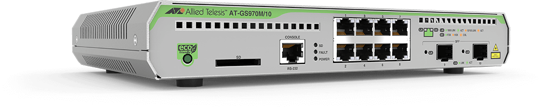 Allied Telesis Switch AT-GS970M/10